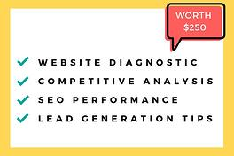 Receive a FREE website assessment